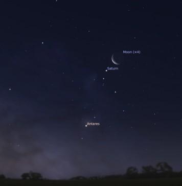 Saturn in Moons Constellation – Restless Mind