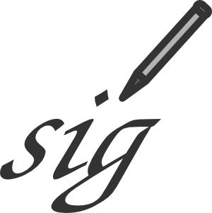 Signature in Numerology