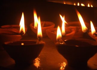 Light a ghee lamp to become rich