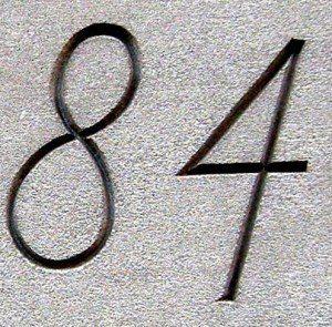 numerology 84