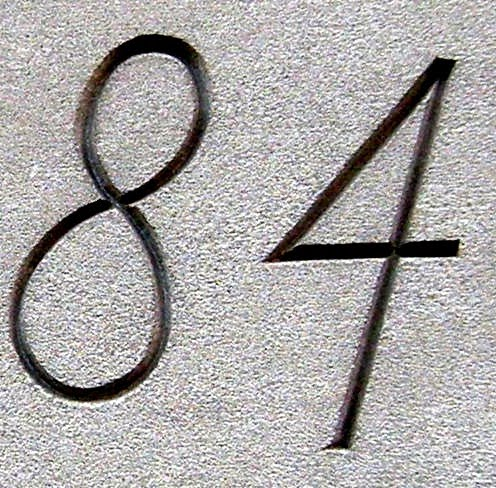 numerology number 84