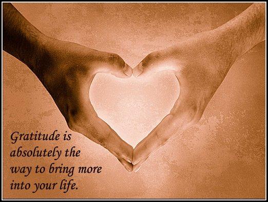 Esoteric Gratitude Grants Immortality