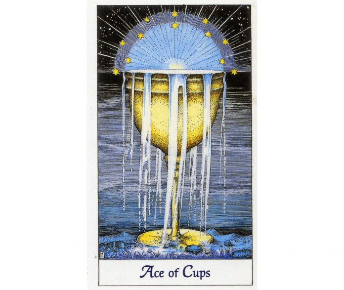 Minor Arcana - Ace of Cups