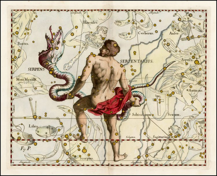 Ophiuchus the Serpent Bearer - The 13th Zodiac? - Astronlogia