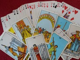 future reading Cartomancy cards