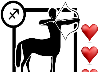 Love Horoscope for Sagittarius the Archer
