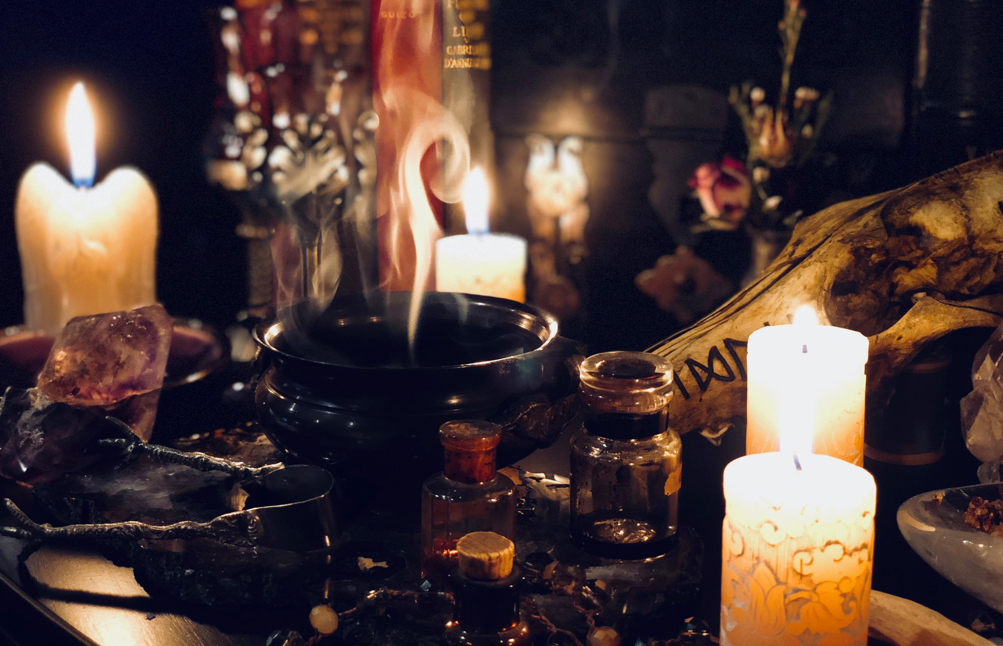 Wiccan Altar