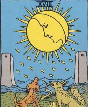 The Moon Tarot Meaning